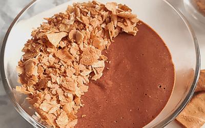 Mousse au Chocolat Bio, Crêpes Dentelles
